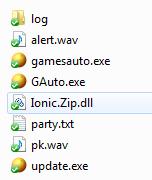 Thư mục auto hoàn chỉnh phải đầy đủ những files này.