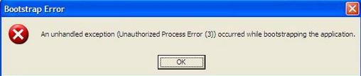 Nếu không có Net Framework, khi chạy Auto sẽ báo lỗi như này